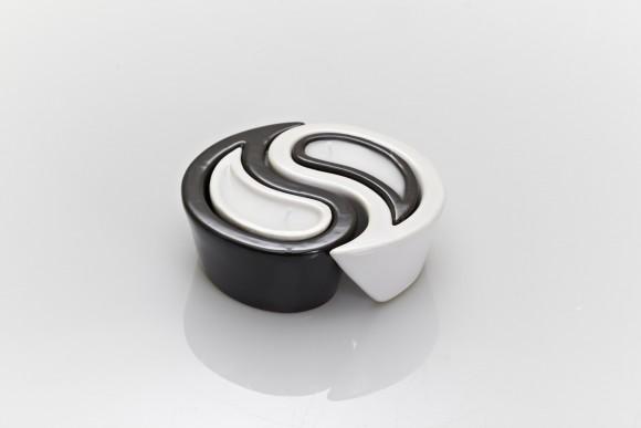 Meloria candela profumata in ceramica YIN-YANG